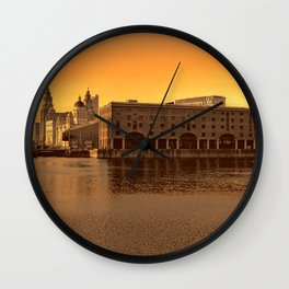Albert Dock, Liverpool Wall Clock