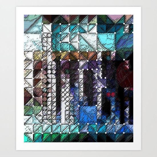 :: Portlandia :: Art Print