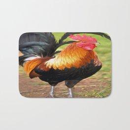Rockin' Rooster Bath Mat