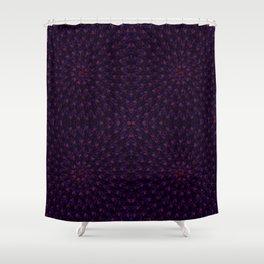 Hypnotic Bouquet Pattern Shower Curtain