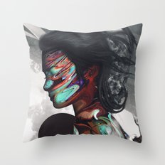 Map of Your Head Throw Pillow
