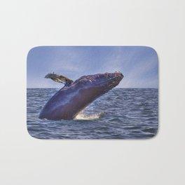 Humpback Breaching Bath Mat