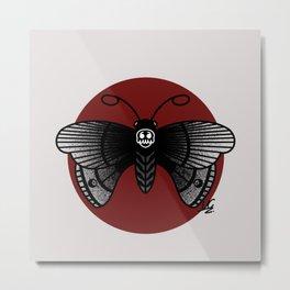 Death Moth Metal Print
