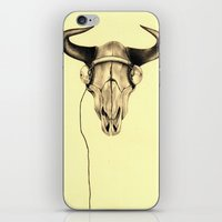 221b iPhone & iPod Skins featuring 221B by KatePowellArt
