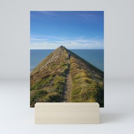 HIGHER SHARPNOSE POINT MORWENSTOW CORNWALL Mini Art Print