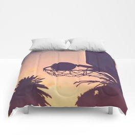 basketball hoop 1 Comforters