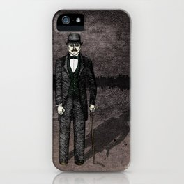Jekyll and Hyde iPhone Case