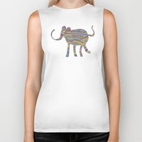 child Biker Tanks featuring rainbow child by Bianca Green