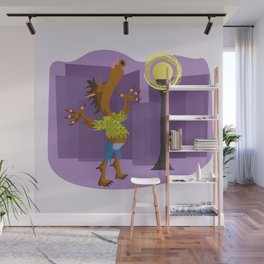 Year of the Werewolf Wall Mural