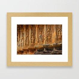 Sacred Pillars Framed Art Print