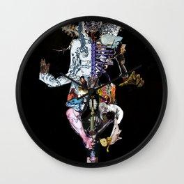 Miss Artwork Wall Clock