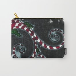 Candy Cane Vine Carry-All Pouch