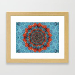Blossoming woe Framed Art Print