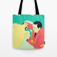 circus Tote Bags featuring Circus by ministryofpixel