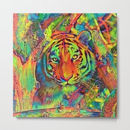 AnimalColor_Tiger_013_by_JAMColors Metal Print