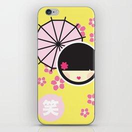 KOKESHI iPhone Skin