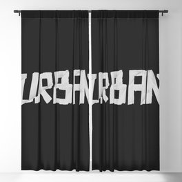 Urban Marker Blackout Curtain