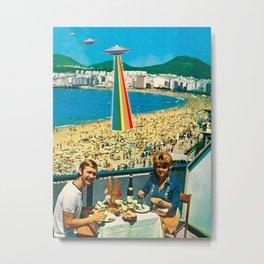 A Summer Vacation Metal Print