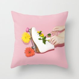Spring Roll Throw Pillow