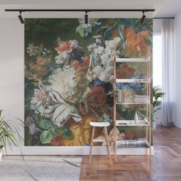 Bouquet of Flowers - Jan van Huysum Wall Mural