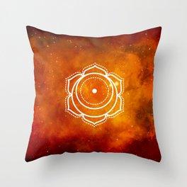 Chakra Sacral Spells Throw Pillow