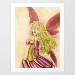 Summer Fairy Art Print
