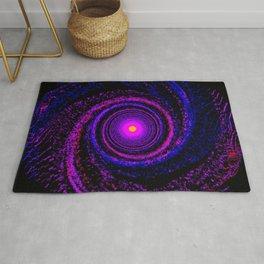Alien Galaxy Abstract Rug