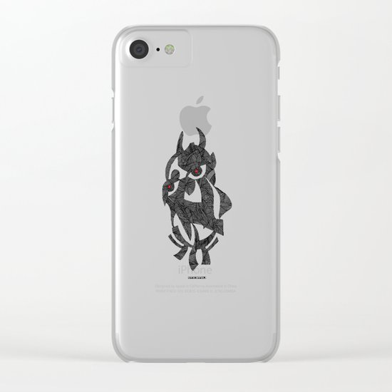 - my strange love - Clear iPhone Case