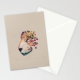 Fractal Jaguar Stationery Cards