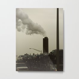 Jersey Metal Print