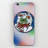 keith haring iPhone & iPod Skins featuring Keith Haring Pig 1988  by cvrcak