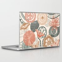 doodle Laptop & iPad Skins featuring doodle  by Ancello