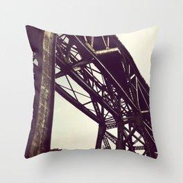 Train Spotting Throw Pillow
