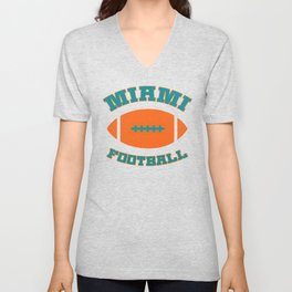 Miami Football Unisex V-Neck