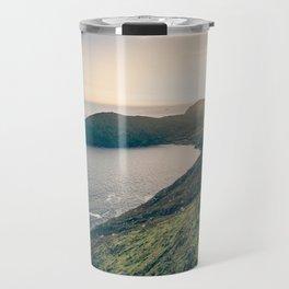Keem Bay Sunset - nature photography Travel Mug