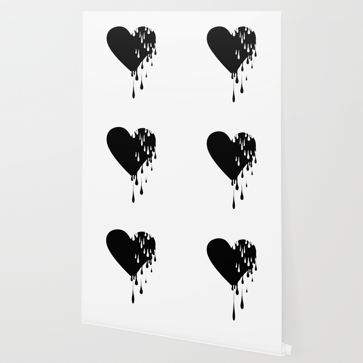 Bleeding Black Heart Wallpaper