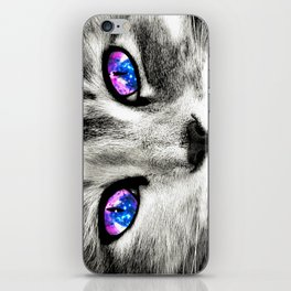 Galaxy Cat iPhone Skin