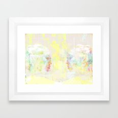 love at first sight Framed Art Print