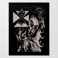 Time Witch Art Print