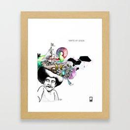 Viento en Popa Framed Art Print