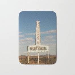 Stardust Motel - Marfa, Texas Bath Mat