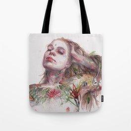 Leaves on Skin Tote Bag
