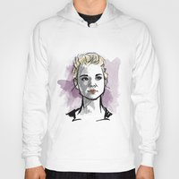moriarty Hoodies featuring elementary: jamie moriarty by roanne Q