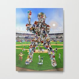 A Whole New Old Ball Game Metal Print
