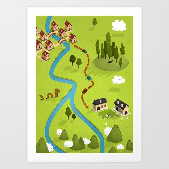 Faire Part Art Print