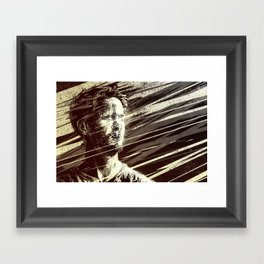 The Road to Damascus (by Brian Doc Reed) Framed Art Print