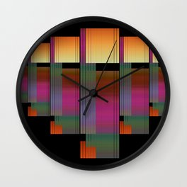 People in formation Wall Clock