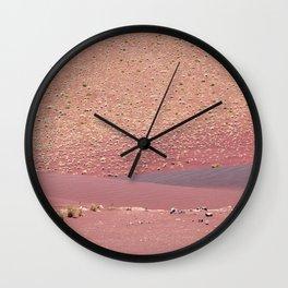 Signs of Fire (Fossil Falls, California) Wall Clock