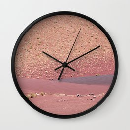 Signs of Fire (Fossil Falls, California) Wall Clock