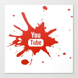 Youtube youtuber - best design or YouTube lover Canvas Print
